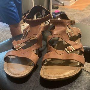 Woman's Merrell ankle strap sandal